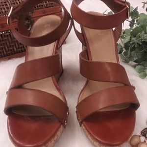 Adorable Limelight Wedge Sandals